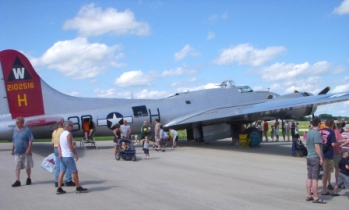 B-51 Bomber_Wings Over Waukesha 2010